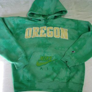 Champion U of Oregon Ducks Tie-Dye Hoodie